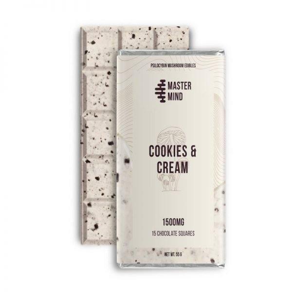 Mastermind 1500mg Cookies And Cream Magic Mushroom Bar 800x800 1