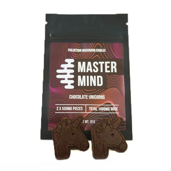 Mastermind Chocolate Unicorns 2 x 500mg