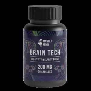 Mastermind Brain Tech Shroom Capsules - 200mg Psilocybin