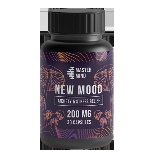 Mastermind New Mood Capsules - 200mg Psilocybin