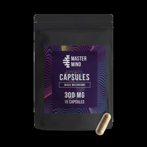 300mg Psilocybin Shroom Capsules - Mastermind Shroom Capsules