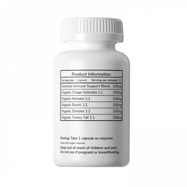 Immune Support 100mg 30 Pack Side