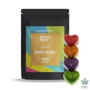 Master Mind Variety Pack Gummy Hearts